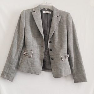 Vintage } Glen plaid | blazer